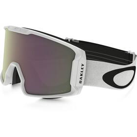 Oakley Line Miner Snow Goggles Herre matte white/prizm hi pink iridium